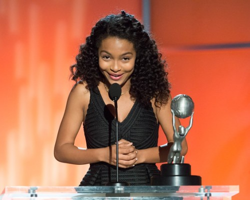 "Outstanding Supporting Actress in a Comedy Series Yara Shahidi - ""black-ish"" (ABC) Photo credit:  Earl Gibson, III/NAACP"