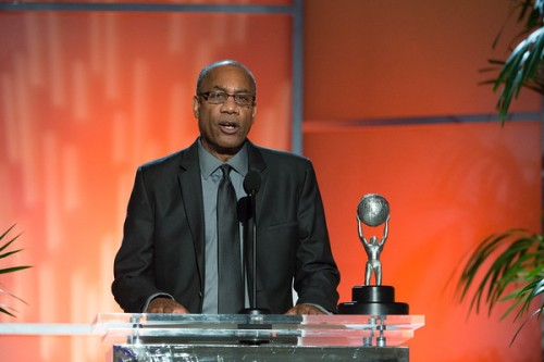 "Outstanding Supporting Actor in a Drama Series Joe Morton - ""Scandal"" (ABC)  Photo credit:  Earl Gibson, III, for NAACP."