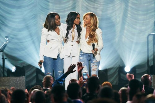Kelly Rowland, Michellle Williams and Beyonce