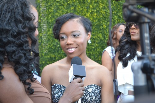Recording artist Ahjah Walls, of the Contemporary The Walls Group