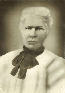 Great grandmother, Priscilla (Savoy) Mitchell born in 1853