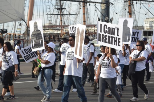 Photo was taken by TCV in Jan. 2015 at Martin Luther King, Jr. Parade in San Diego, CA