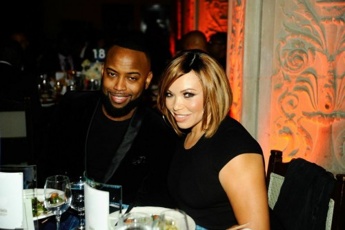 "Tisha Campbell-Martin (""My Wife and Kids,"" ""Martin"") and Honoree B Slade ( formerly known as the moniker Tonéx)"