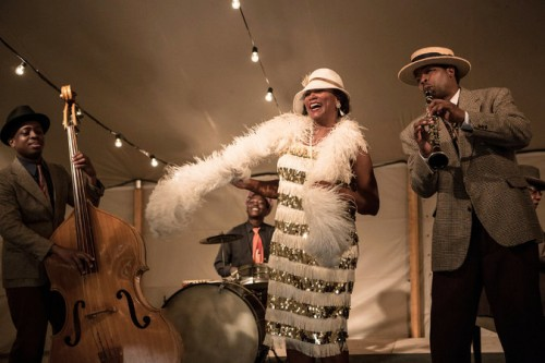 "Queen Latifah stars as Bessie Smith, in ""Bessie"" airing Saturday, May 16th on HBO."