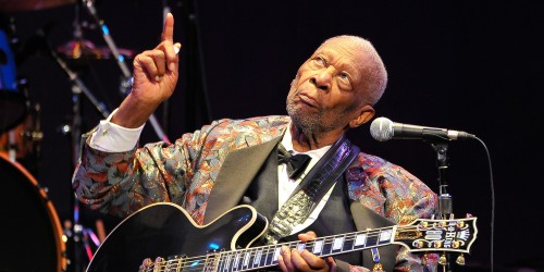 Riley B. King (B.B. King) on Sept. 16, 1925- May 14, 2015 (Photo by Steve Jennings/WireImage)