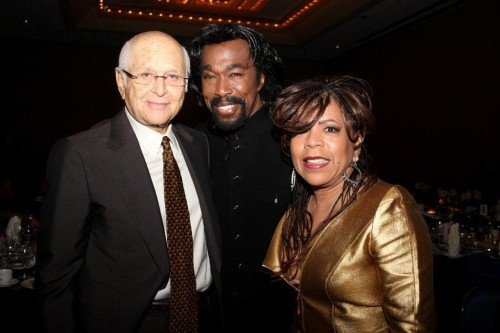 Norman Lear and prolific songwriting team, Nick Ashford& Valerie Simpson