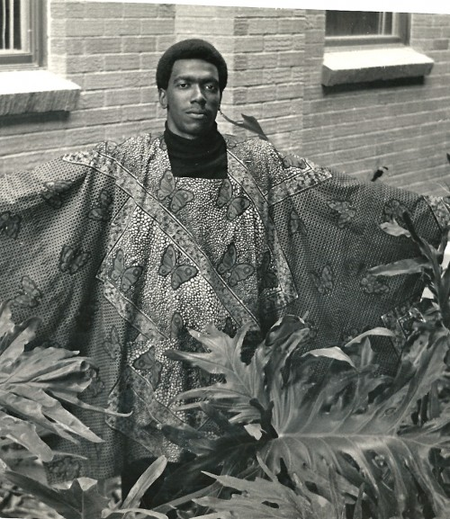 Warren Anderson (Pastor) was one of the models for Hopkins' Black Expo during the late sixties.