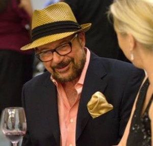 Wine commentator, Frank Mangio