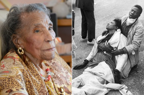 US Civil Rights Activist Amelia Boynton Robinson Dies at 104.
