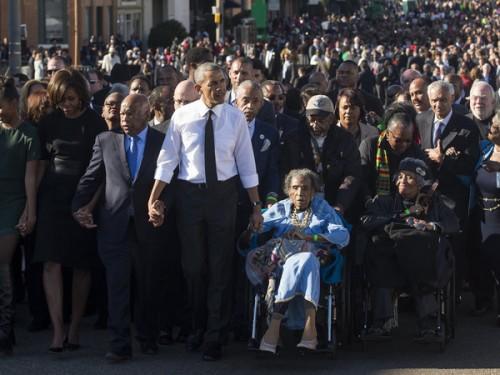 Boynton Robinson -Obama-Selma