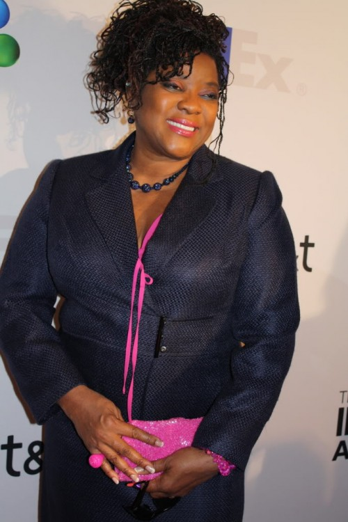 This photo of Loretta Devine was taken at the 2013 NAACP-Awards luncheon.