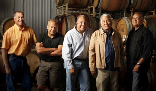The Sterling Family, one of the few Black owned Vineyards.  Owner's of Everette Ridge/Esterlina Vineyards iin Healdsburg, CA.