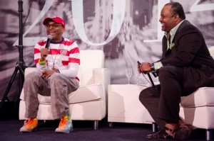 Spike Lee interviews on News One Now with Roland Martin, Friday, November 20.