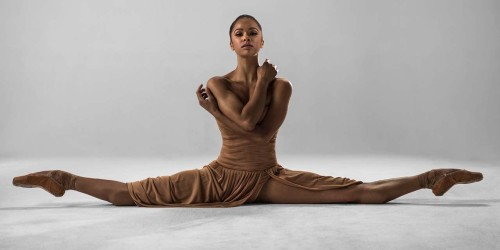 Misty Copeland, first black principal dancer at the American Ballet Theater.