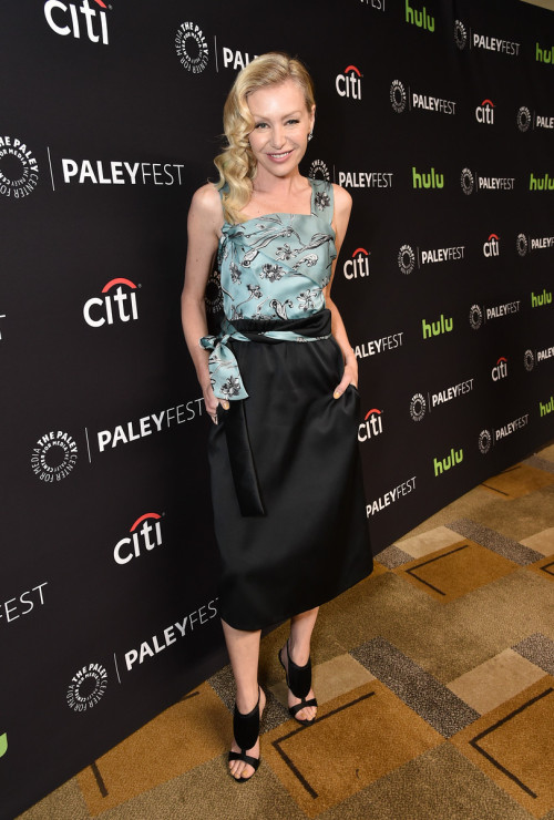 HOLLYWOOD, CA - MARCH 15: Portia de Rossi at PaleyFest LA 2016 honoring Scandal, presented by The Paley Center for Media, at the Dolby Theatre on March 15, 2016 in Hollywood, California. © Rob Latour for the Paley Center.