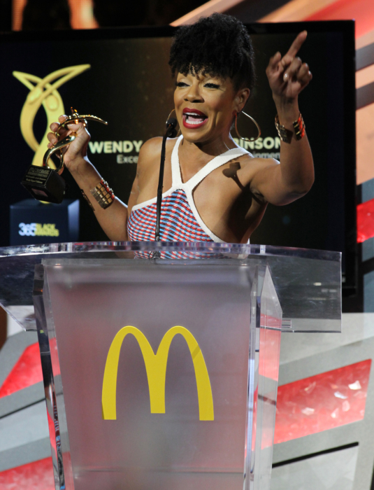 Actress and honoree Wendy Raquel Robinson attends the 13th Annual McDonald's 365 Black Awards at the Ernest Moral Convention Center in New Orleans, LA on Friday, July 1, 2016.
