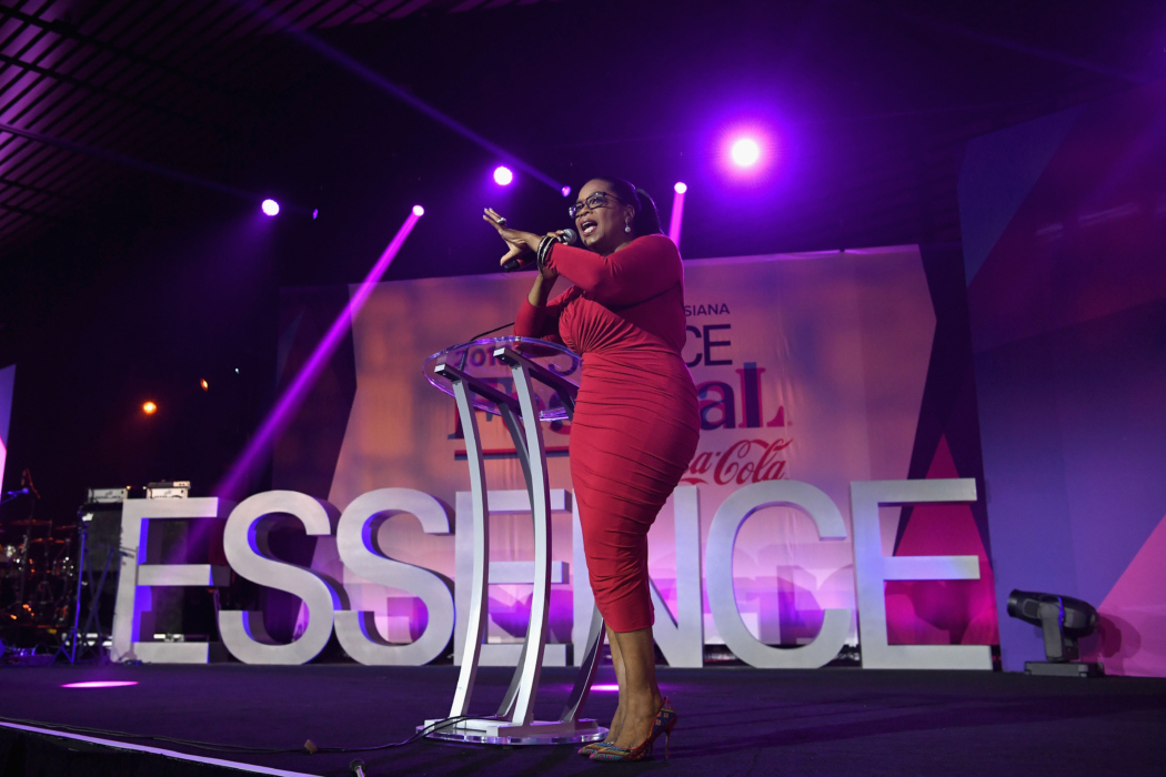 NEW ORLEANS, LA - JULY 02: Oprah Winfrey speaks onstage during the 2016 ESSENCE Festival presented By Coca-Cola at Ernest N. Morial Convention Center on July 2, 2016 in New Orleans, Louisiana. (Photo by Paras Griffin/Getty Images for 2016 Essence Festival) *** Local Caption *** Oprah Winfrey