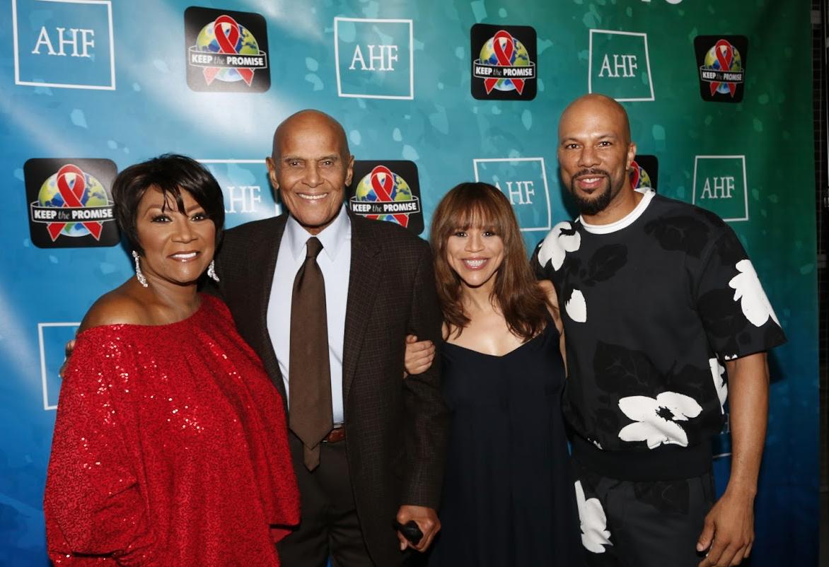 (L-R: Patti LaBelle, Harry Belafonte, Rosie Perez, Common) Photo Cred: A Turner Archives