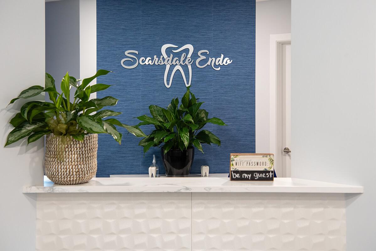 Scarsdale Endo Reception Desk