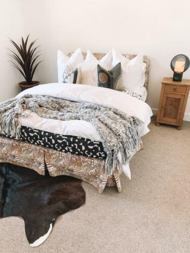 Bedroom Staging Perfection in a Listing for sale in Arcadia, Phoenix Arizona