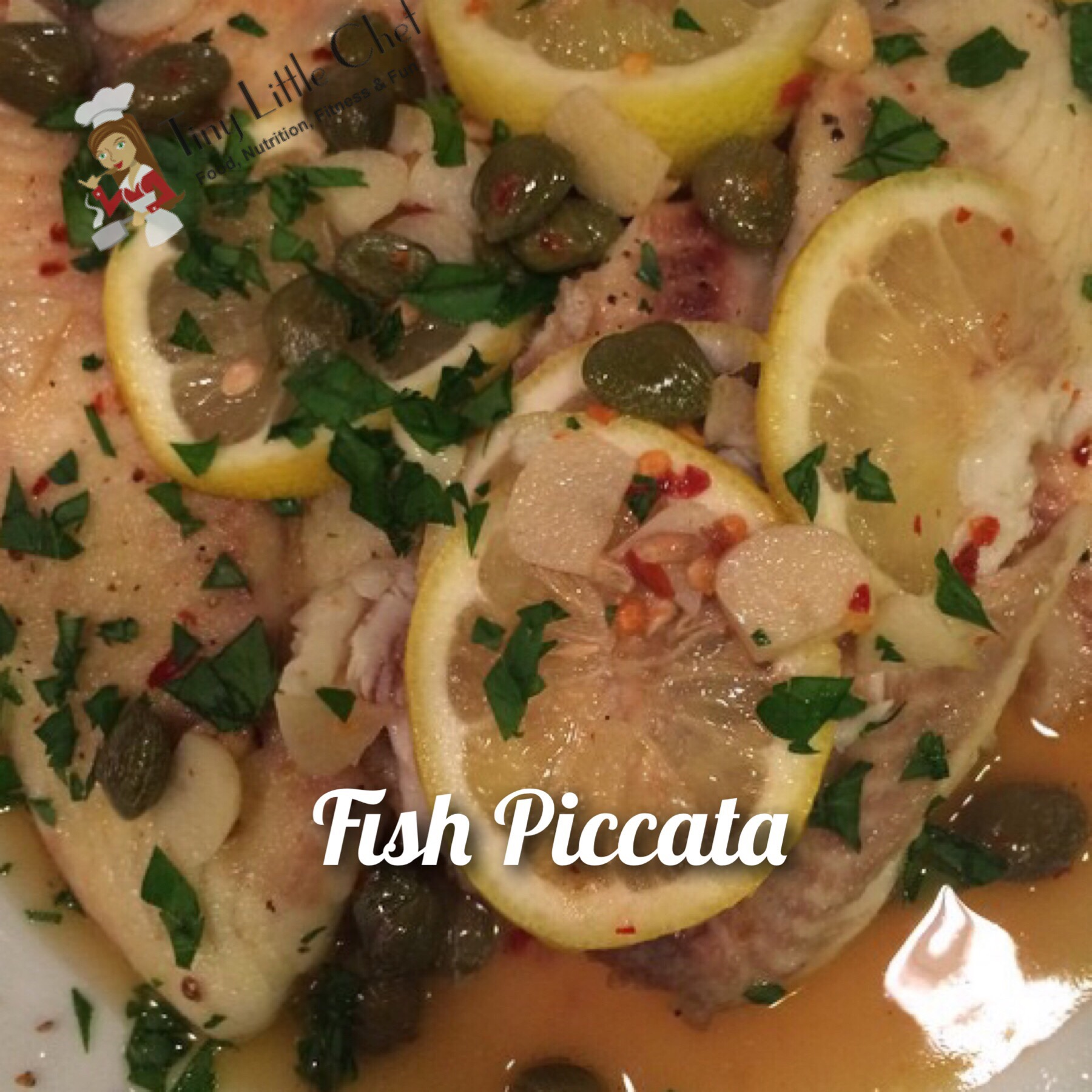 Tiny Little Chef Fish Piccata