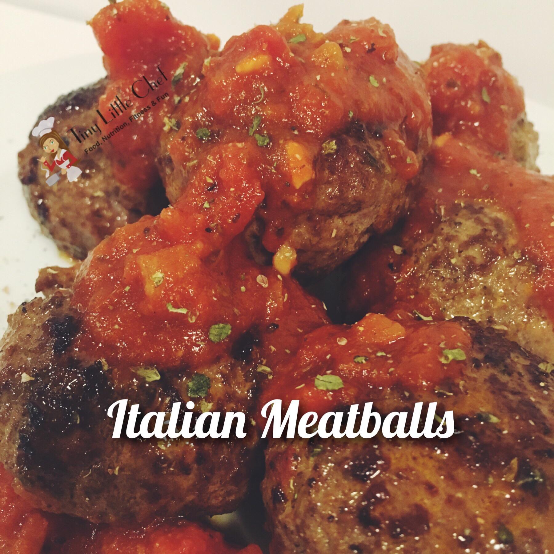 Tiny Little Chef Italian Meatballs