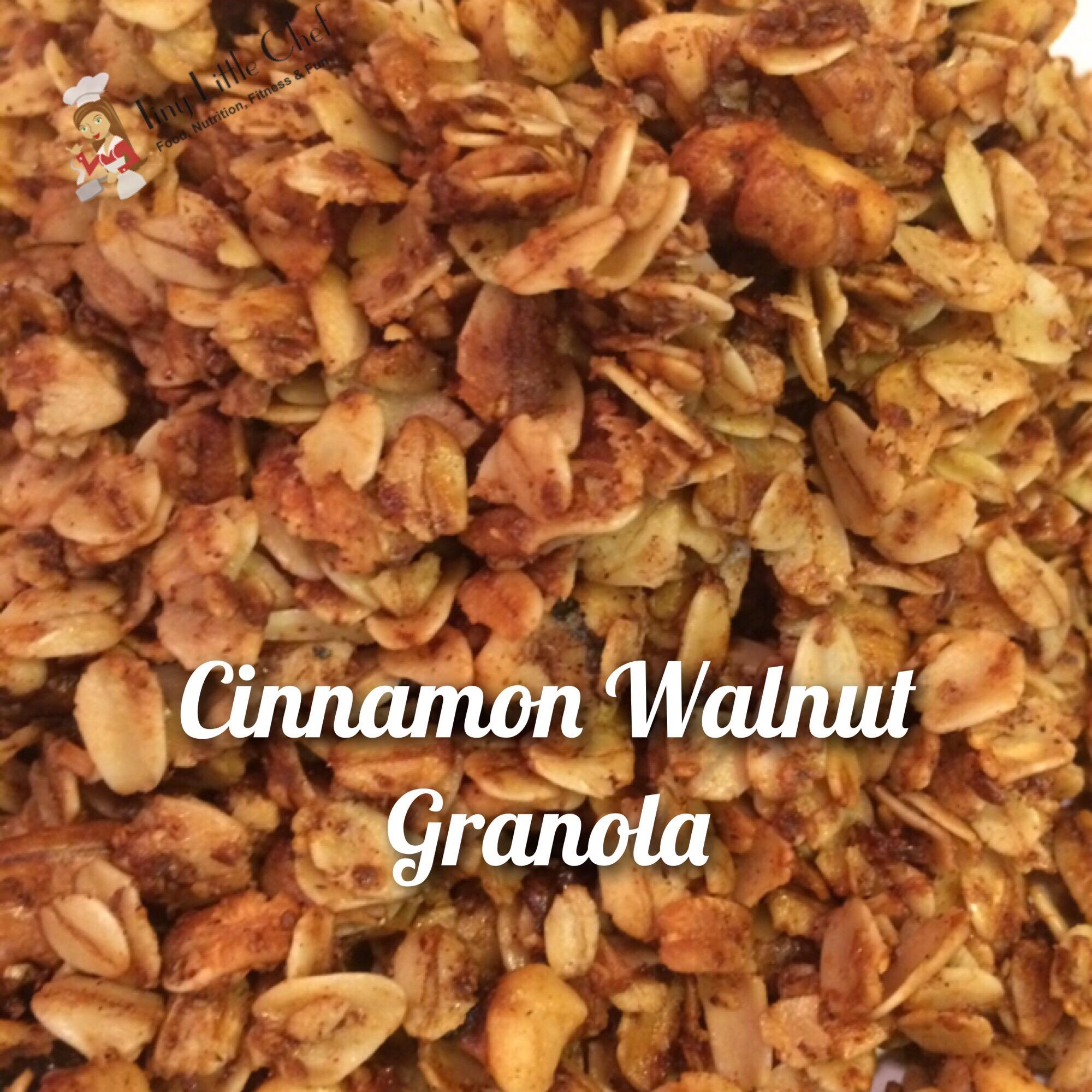 Tiny Little Chef Cinnamon Walnut Granola