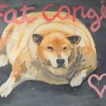 James Franco peint les animaux obèses