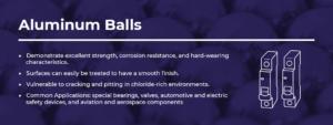 aluminum balls information