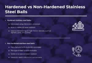 hardened vs non-hardened stainless steel