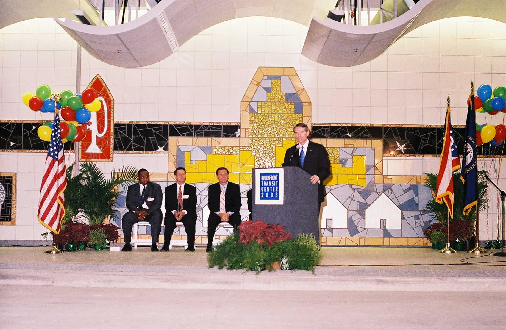 Riverfront Transit Center completed/opened