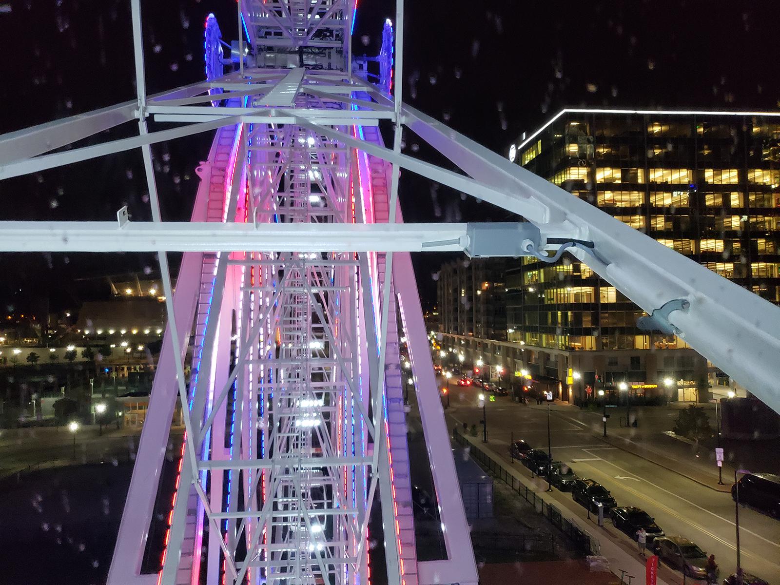 Skystar Wheel opens on Freedom Way