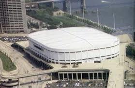 Riverfront Coliseum opened