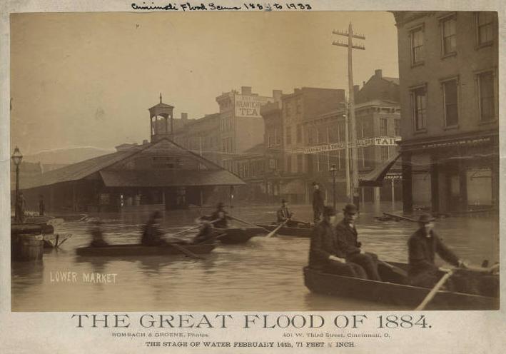 The Great Flood of 1884 The Banks Cincinnati History