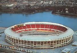 Riverfront Stadium completed