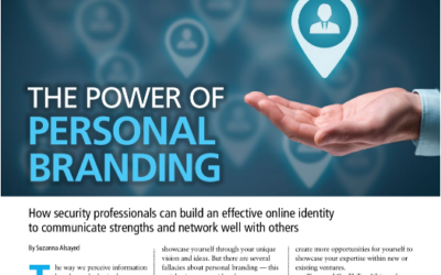 Canadian Security magazine – The Power of Personal Branding