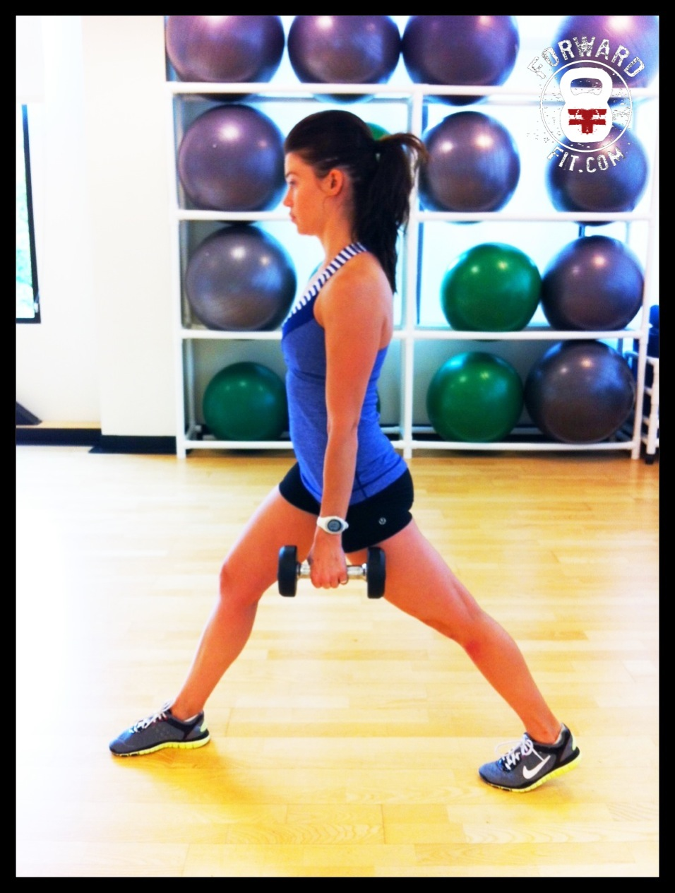 Lunges Dumbbell 2