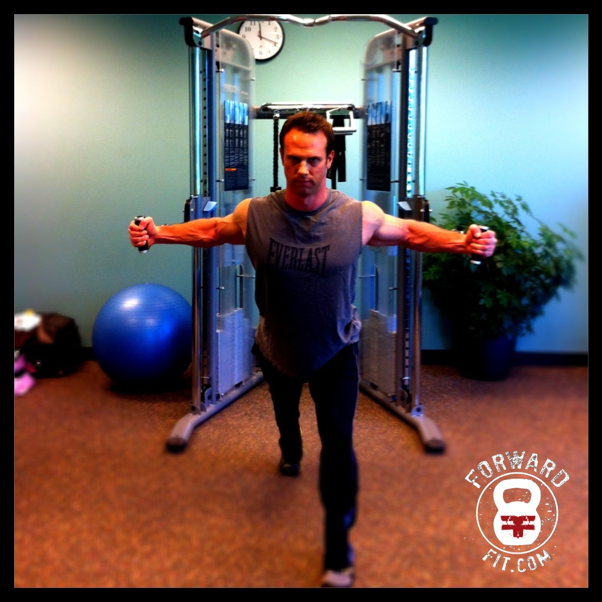 Standing Cable Chest Fly 1