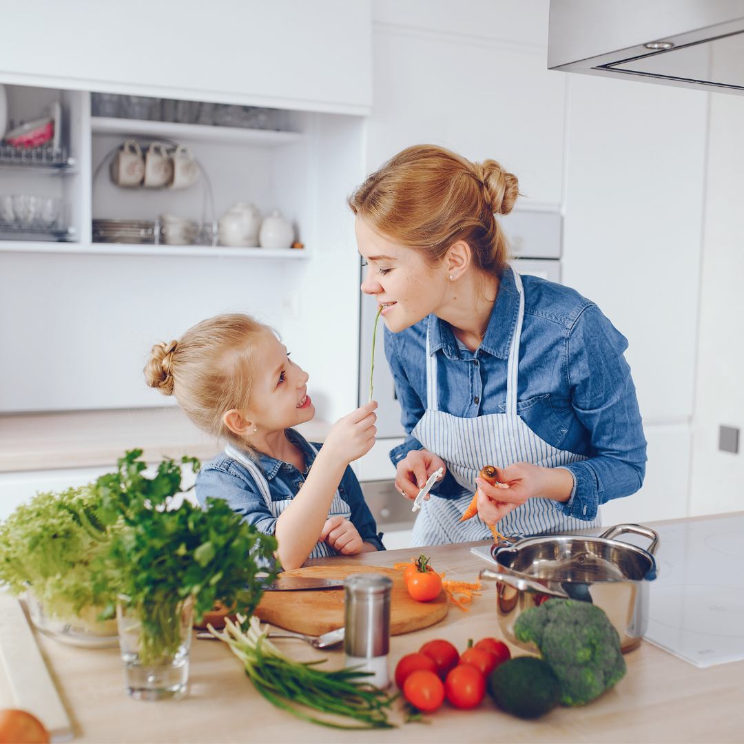 how to get your child to eat more fruits and vegetables