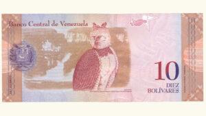 Venezuela 10 Bolívares Fuertes, Mar-20-2007, Serie Z8 Reposición (Tercer Intervalo) UNC