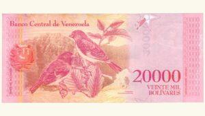 Venezuela 20000 Bolívares Fuertes, Dic-13-2017, Serie Z8 Reposición UNC