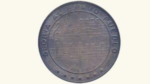 VENEZUELA Medalla Esmaltada Símbolos Patrios, 1978 XF/AU