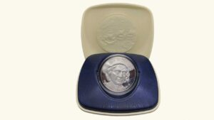 """VENEZUELA Medalla """"Descubrimiento de América"""", 1992, AU/UNC"""