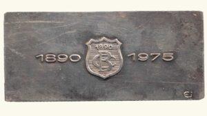 """VENEZUELA, Lingote Conmemorativo """"85 Años del Banco Caracas"""" – Copia del Billete 10 Bolívares (XF)"""