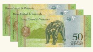 Venezuela 50 Bolívares Fuertes, Mar-20-2007, Serie Completa (A8, B8, Z8) UNC