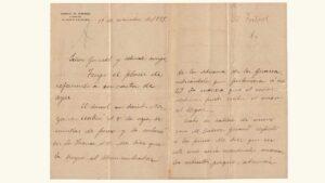 VENEZUELA, Carta del Dr. José Gil Fortoul, Dirigida al Presidente Gral. Antonio Guzmán Blanco. Paris, 19-09-1888