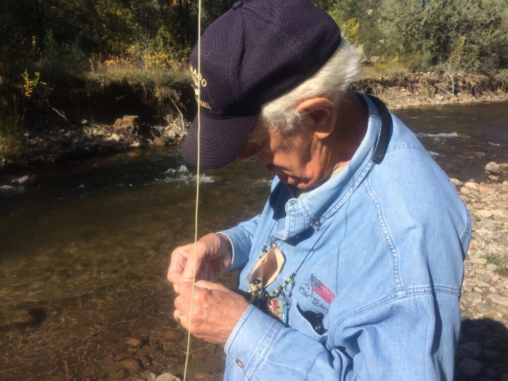 learn to rig for trout at santa fe fly fishing school