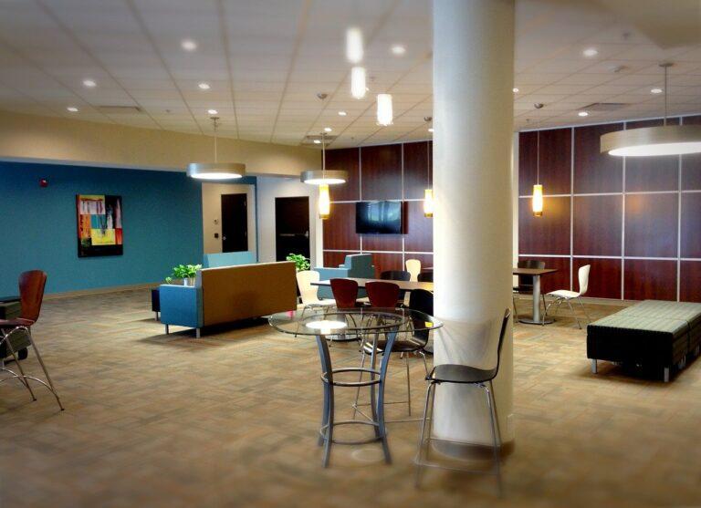 lobby, office, business