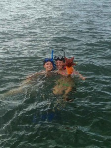 Snorkeling the shallows in Key West