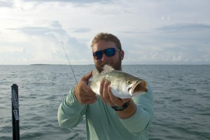 Winter time trout fishing in Key West